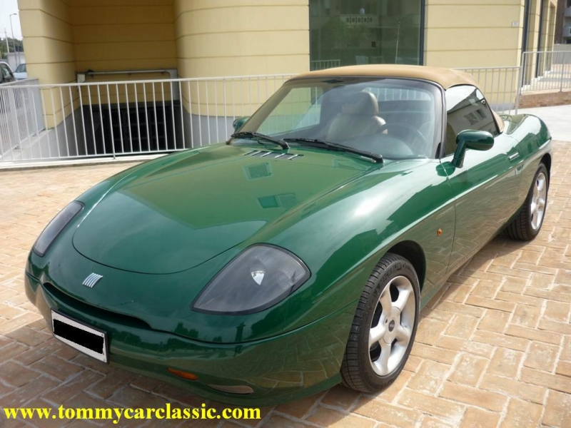 FIAT BARCHETTA 1.8 green
