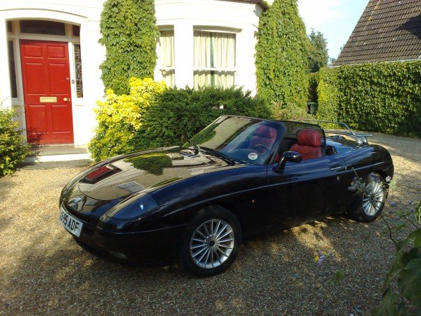 FIAT BARCHETTA brown