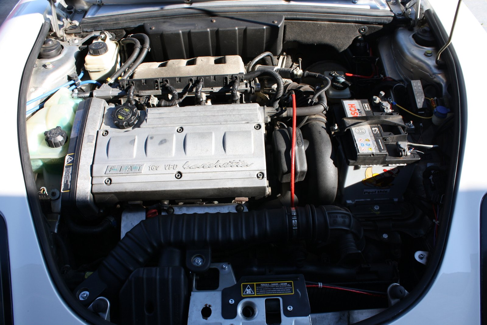 FIAT BARCHETTA engine