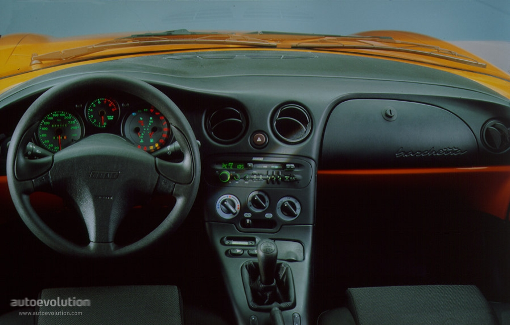 FIAT BARCHETTA interior