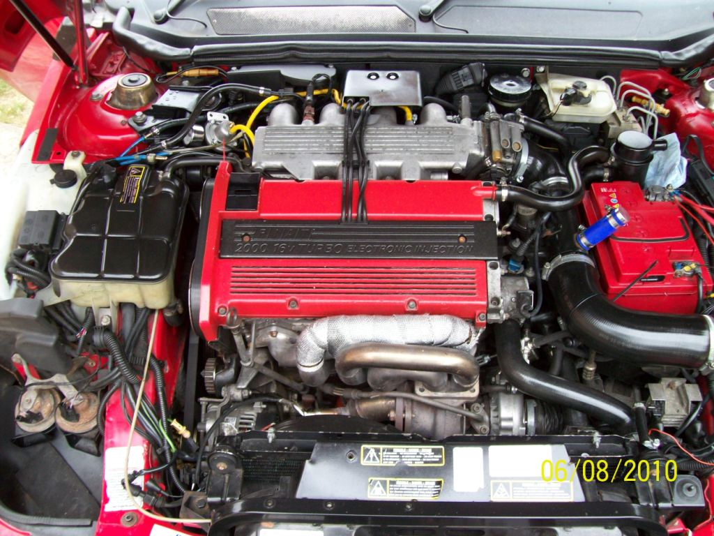 FIAT COUPE engine
