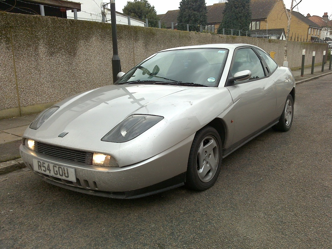 FIAT COUPE silver