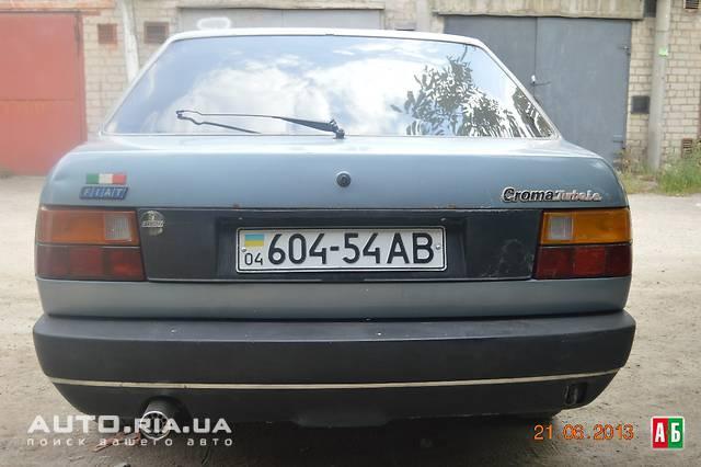 FIAT CROMA 2.5 TD green