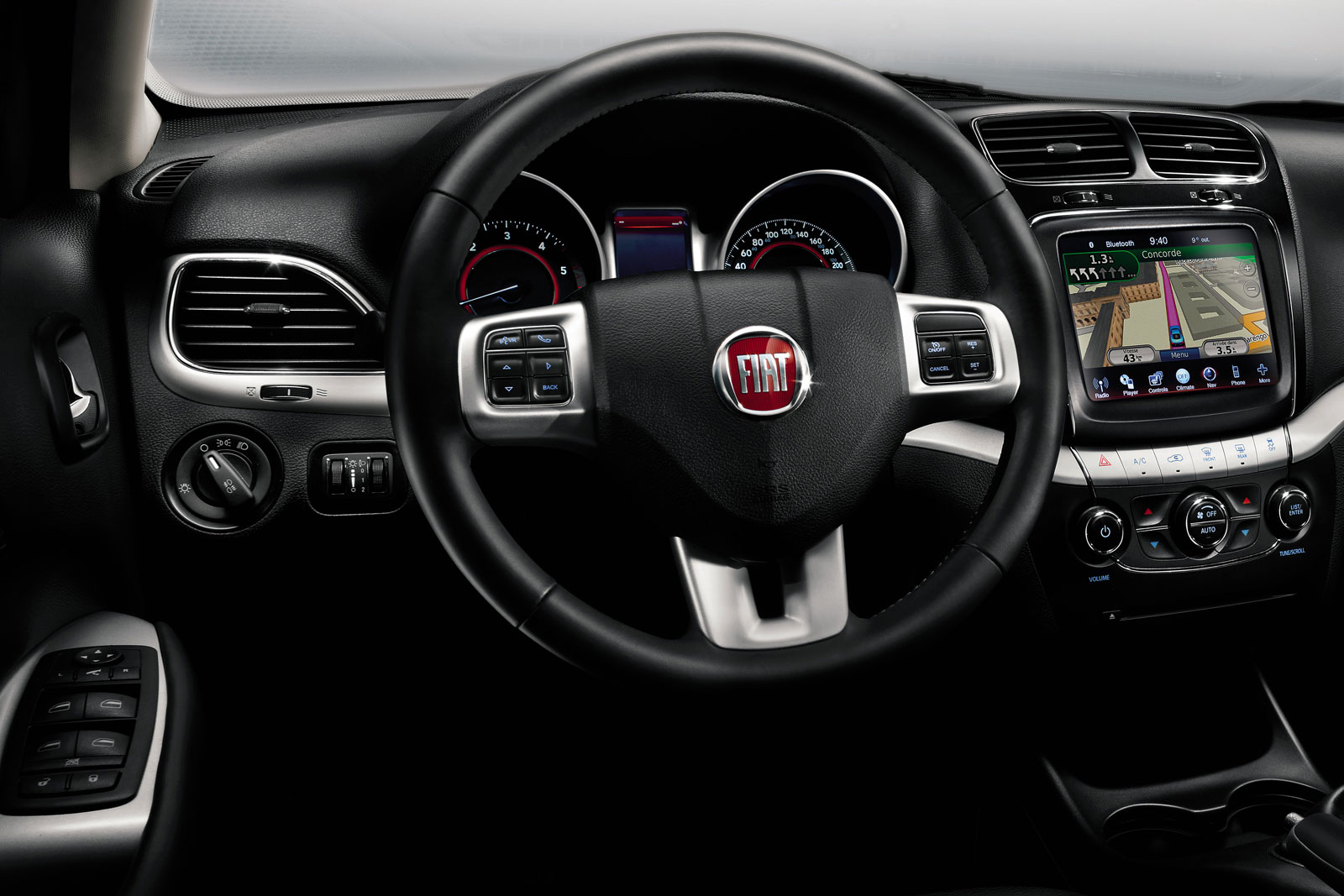 FIAT FREEMONT interior
