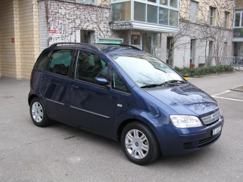 FIAT IDEA blue