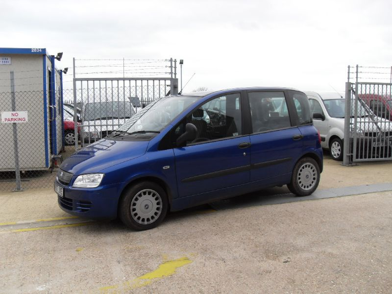 FIAT MULTIPLA blue