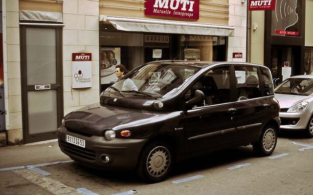 FIAT MULTIPLA brown