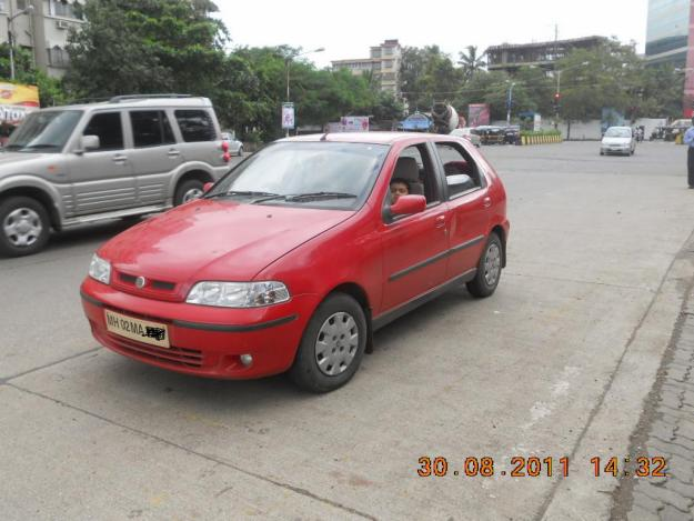 FIAT PALIO red