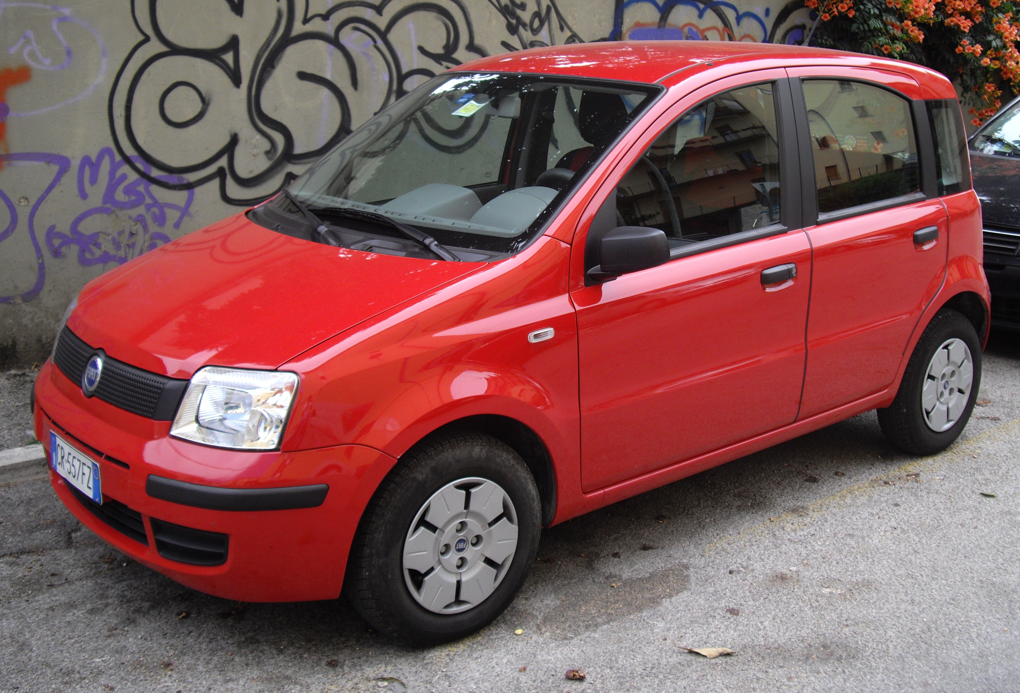 FIAT PANDA 1.1 green