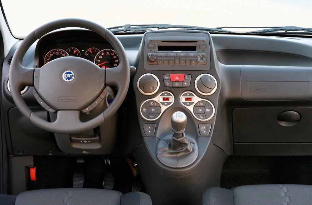 FIAT PANDA 1.1 interior
