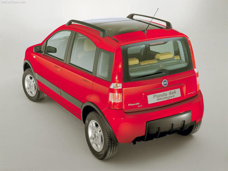 FIAT PANDA 4X4 red