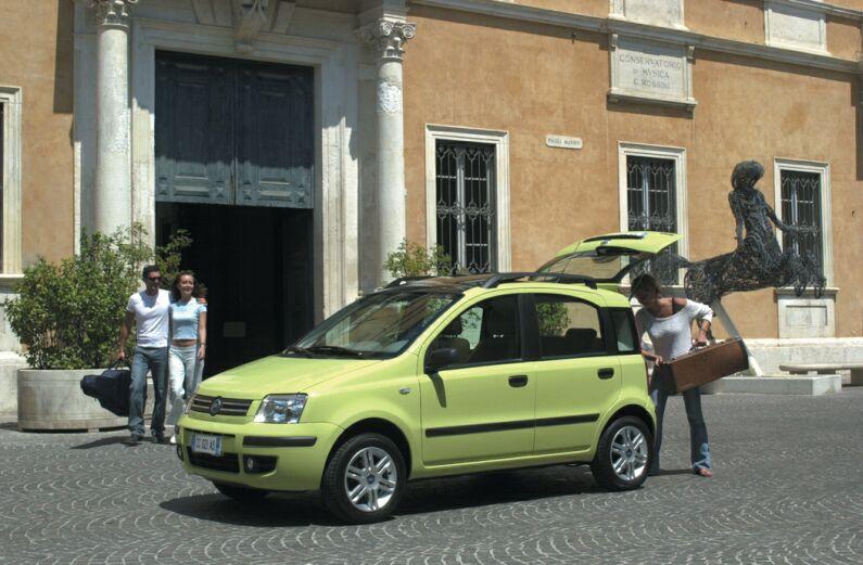 FIAT PANDA green