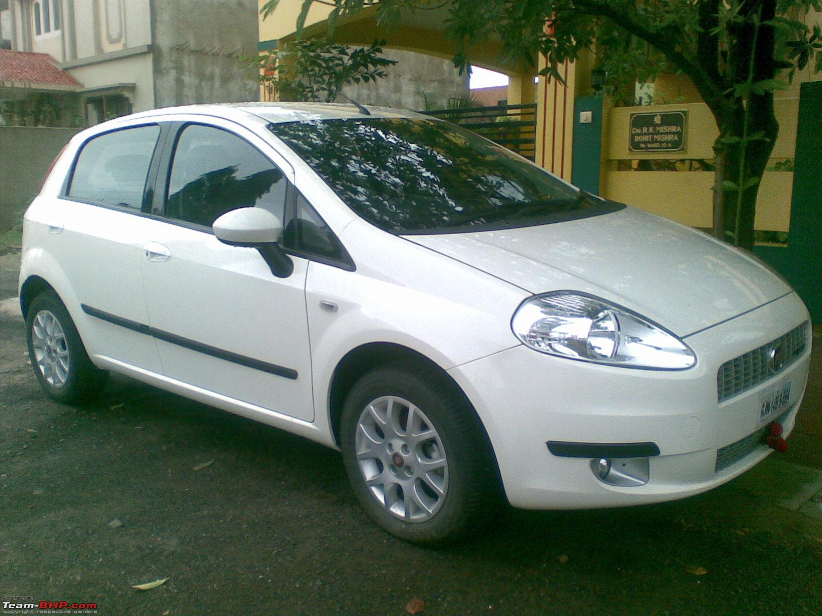FIAT PUNTO white
