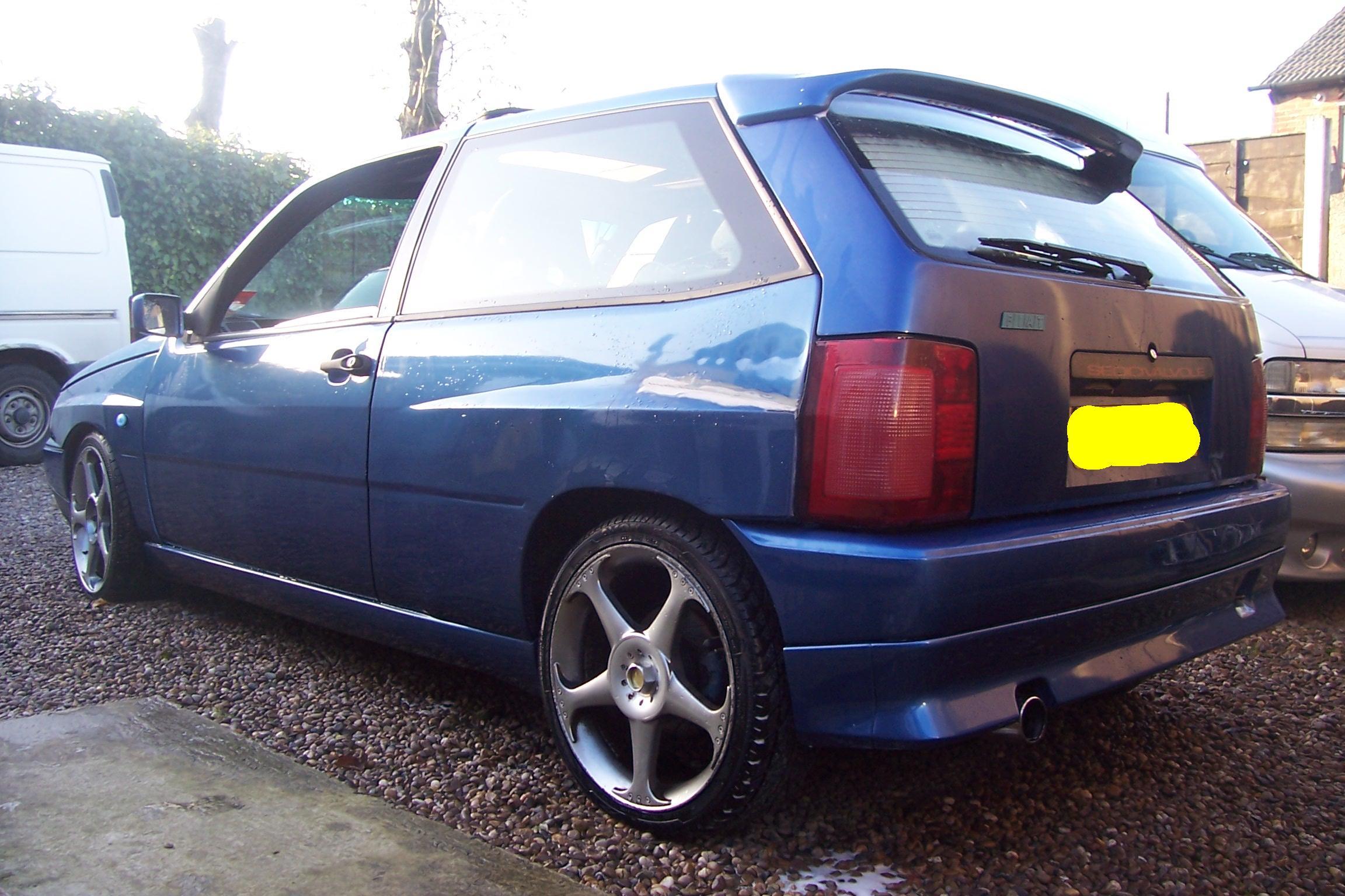 FIAT TIPO blue