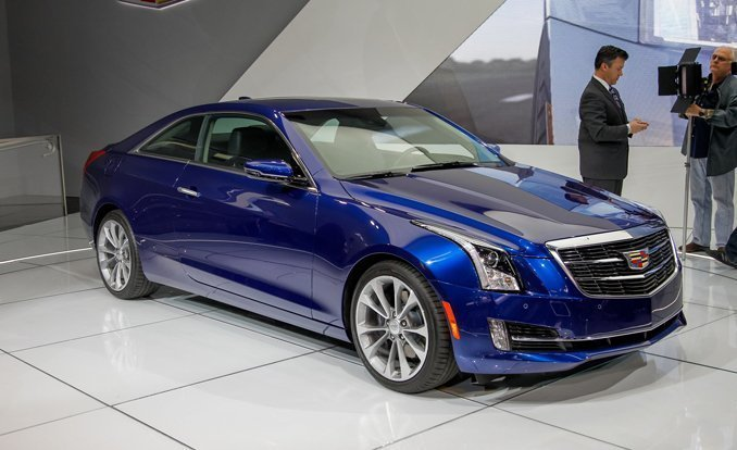 first ever compact luxury 2015 cadillac ats coupe is ready for sale. Black Bedroom Furniture Sets. Home Design Ideas
