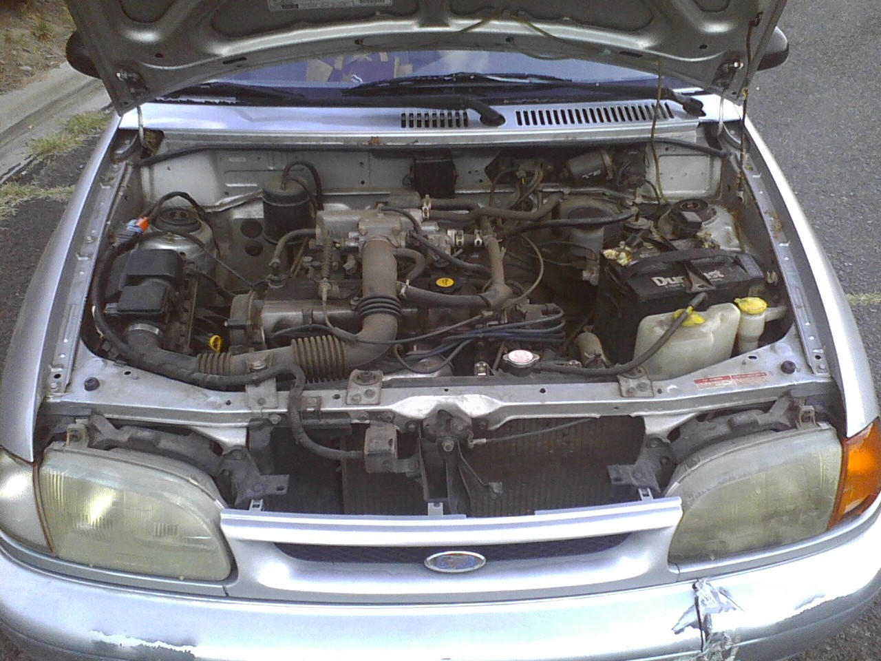 FORD ASPIRE engine