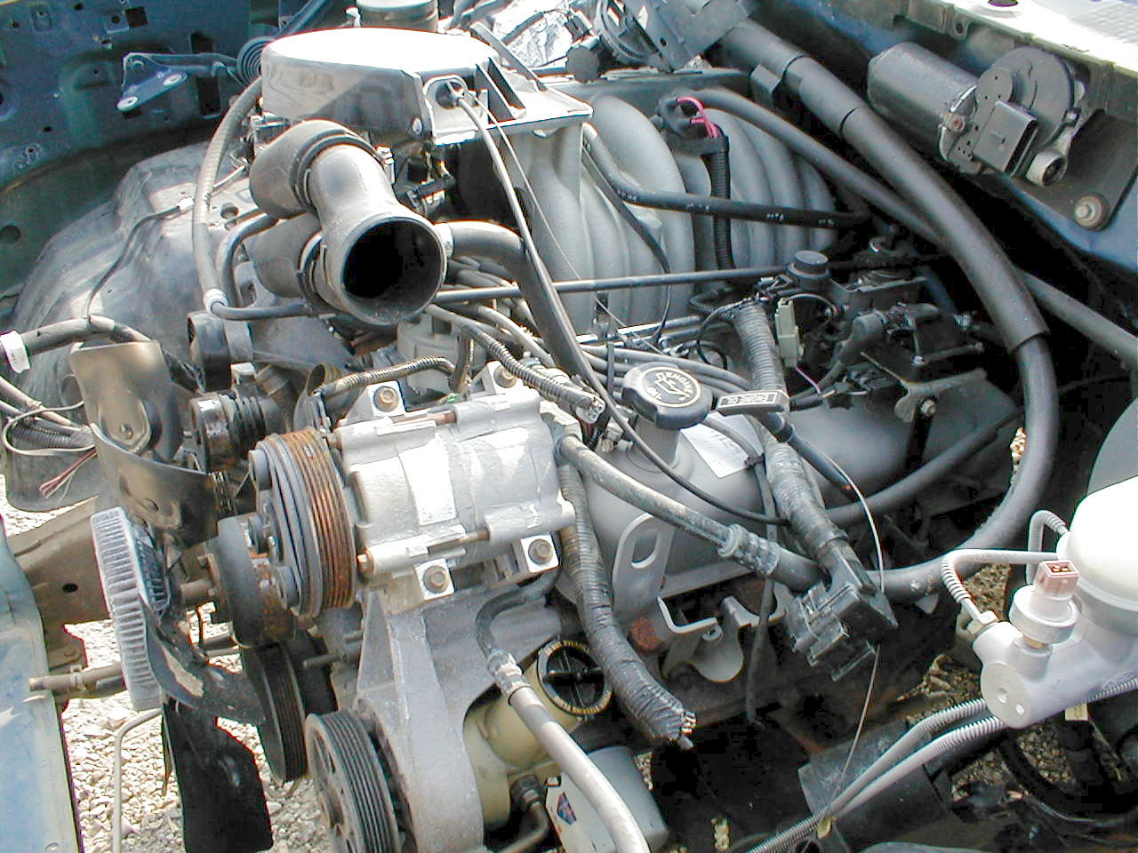FORD BRONCO 5.8 engine