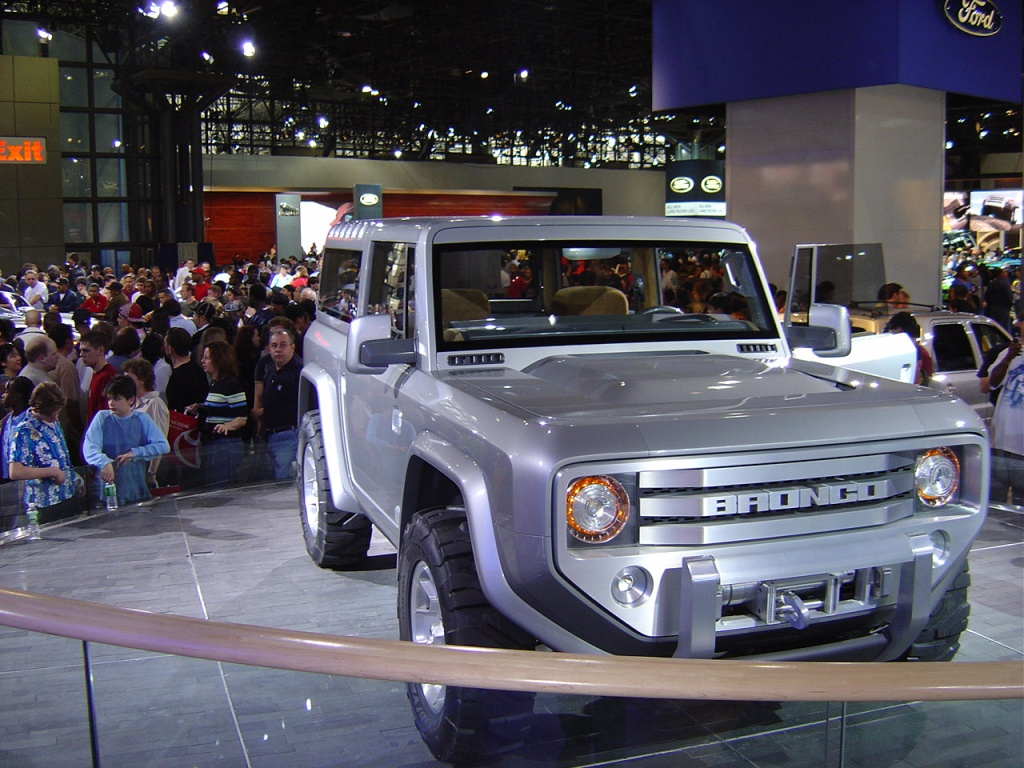 FORD BRONCO silver