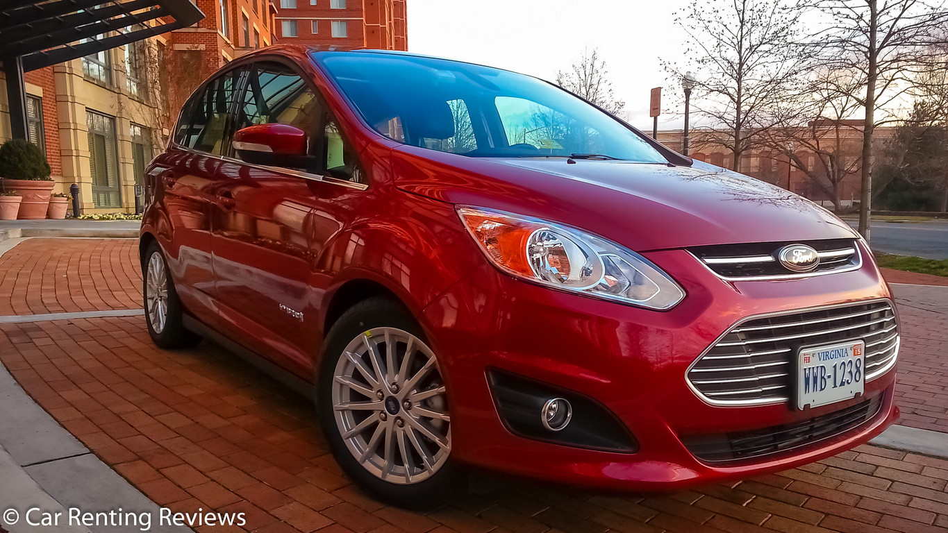 FORD C MAX red