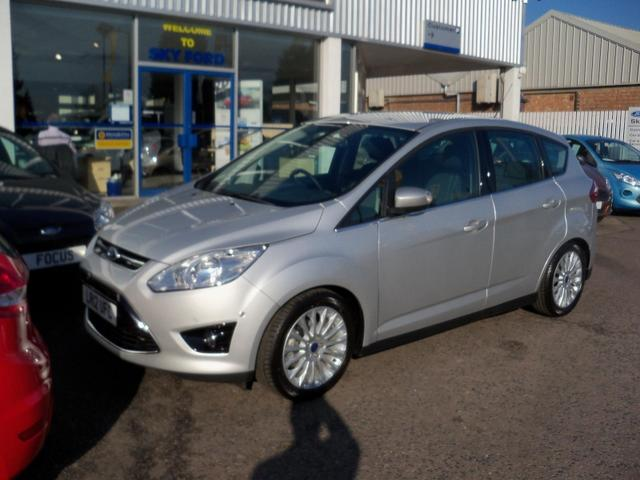 FORD C MAX silver