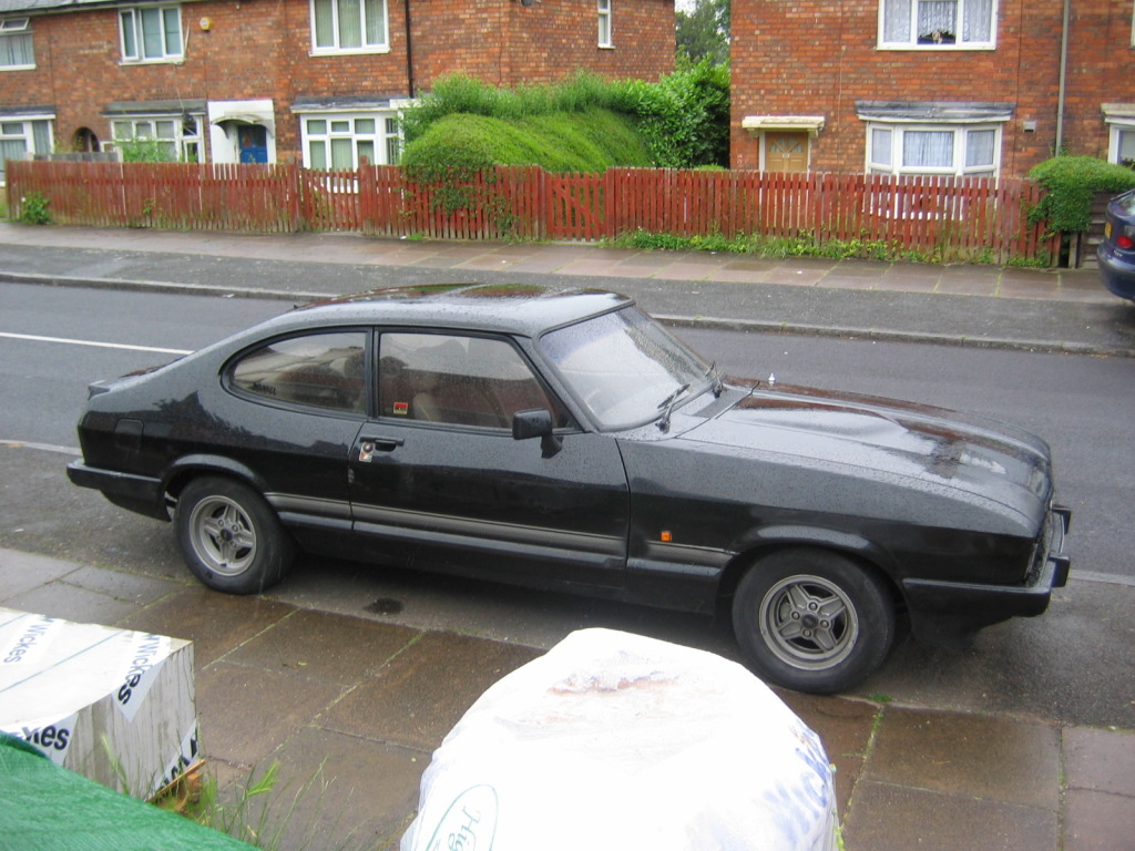FORD CAPRI black