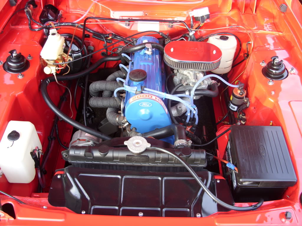 FORD CAPRI engine