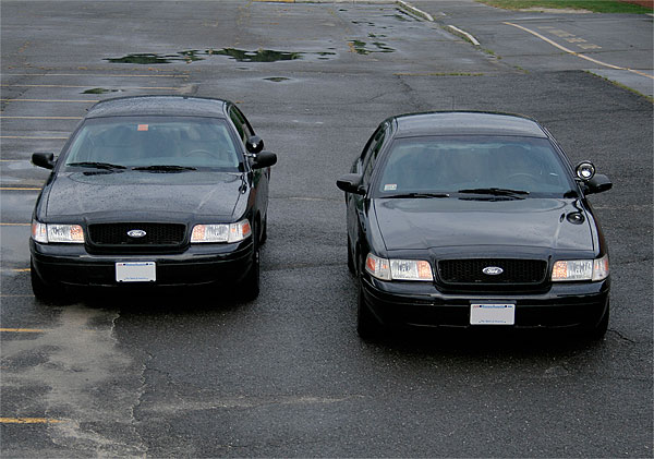 FORD CROWN VICTORIA black