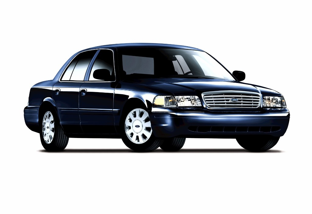 FORD CROWN VICTORIA blue