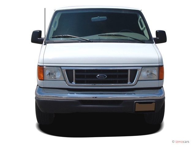 FORD E-150 VAN blue