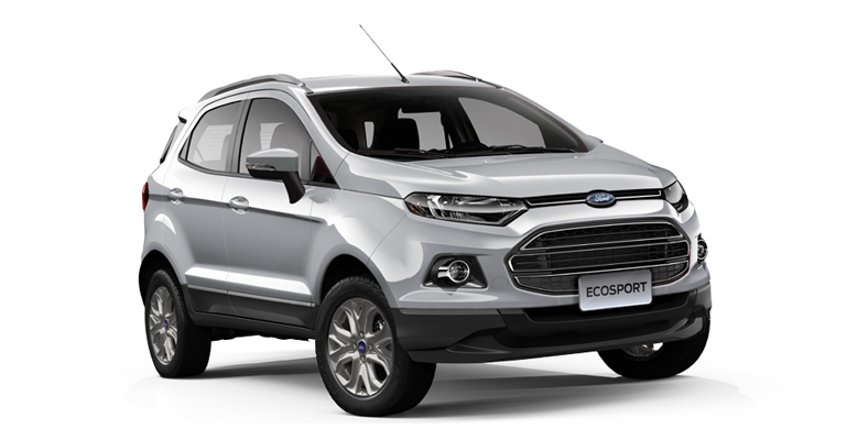 FORD ECO SPORT silver
