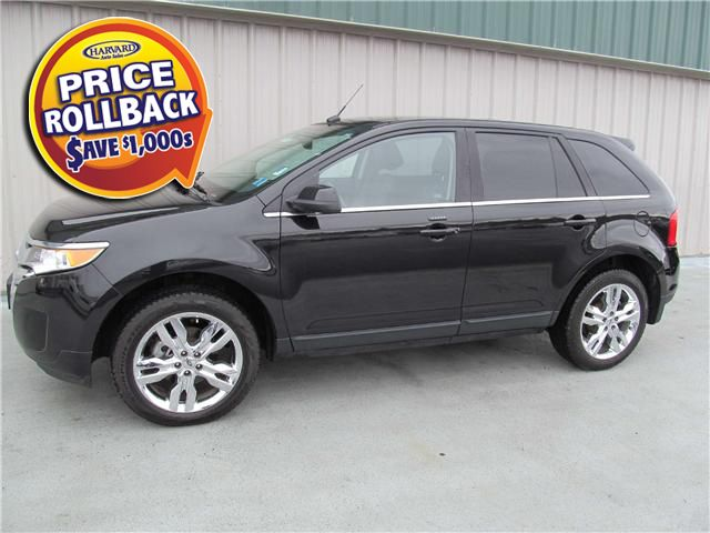 FORD EDGE LIMITED black