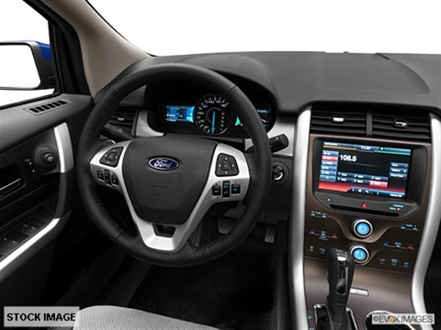 FORD EDGE LIMITED blue