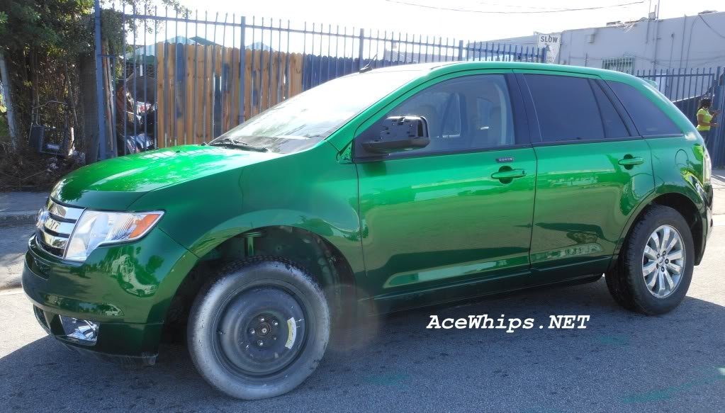 FORD EDGE LIMITED green