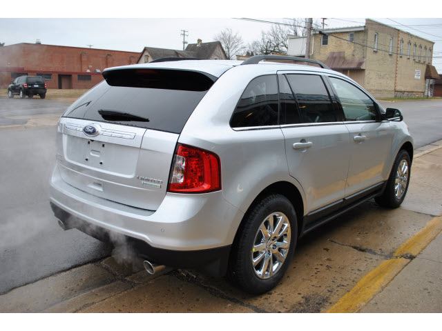 FORD EDGE LIMITED silver