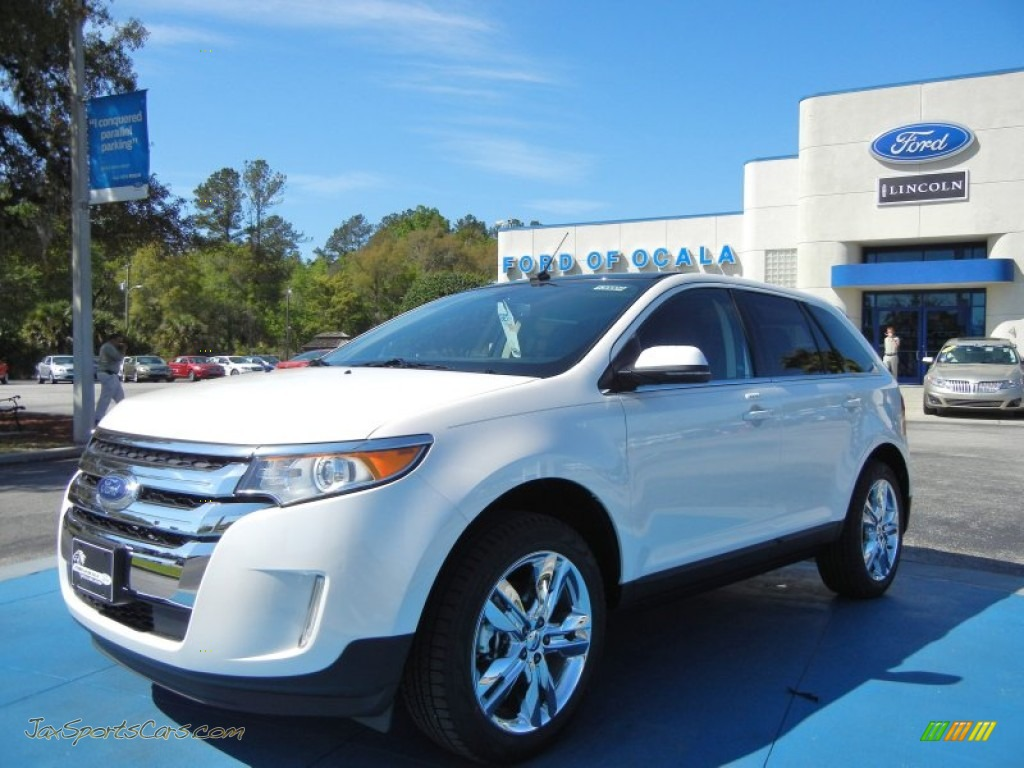 FORD EDGE LIMITED white