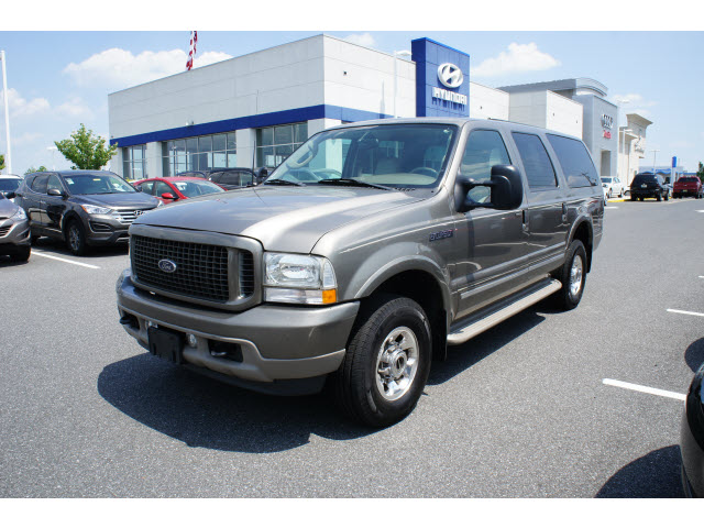 FORD EXCURSION 4X4 engine