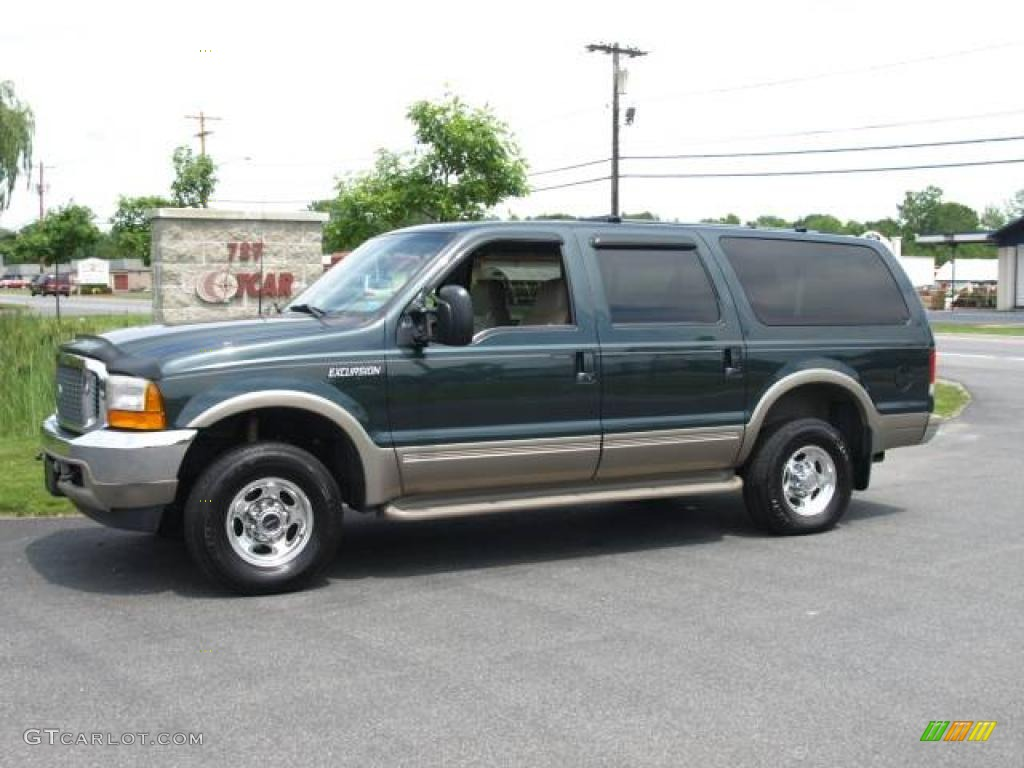 FORD EXCURSION 4X4 green