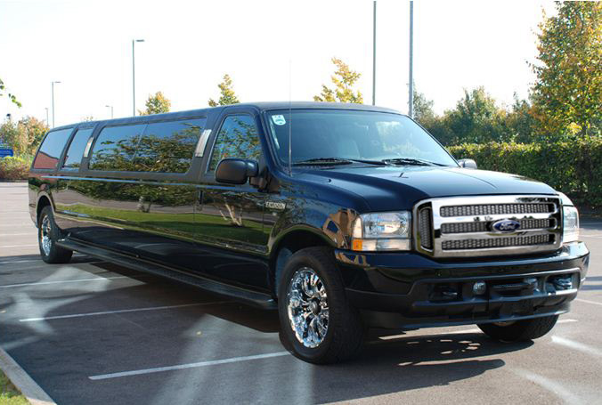FORD EXCURSION black