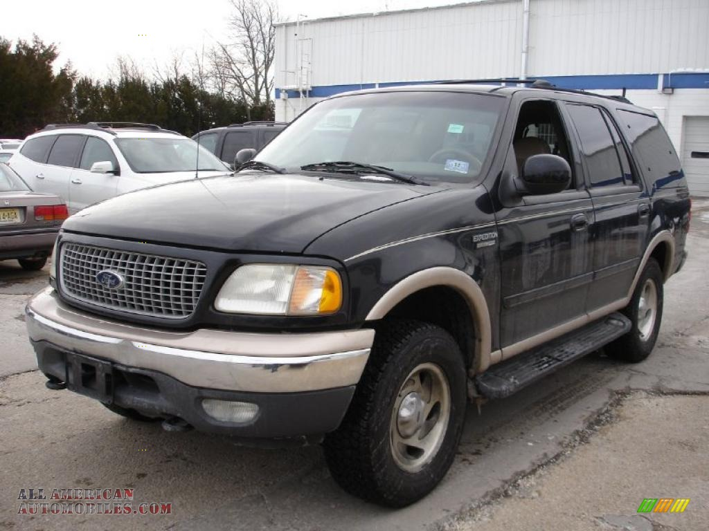 FORD EXPEDITION 4X4 black