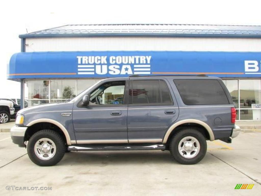 FORD EXPEDITION 4X4 blue