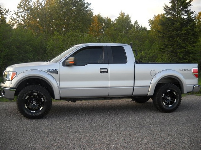 FORD F150 silver