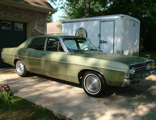 FORD FAIRLANE green