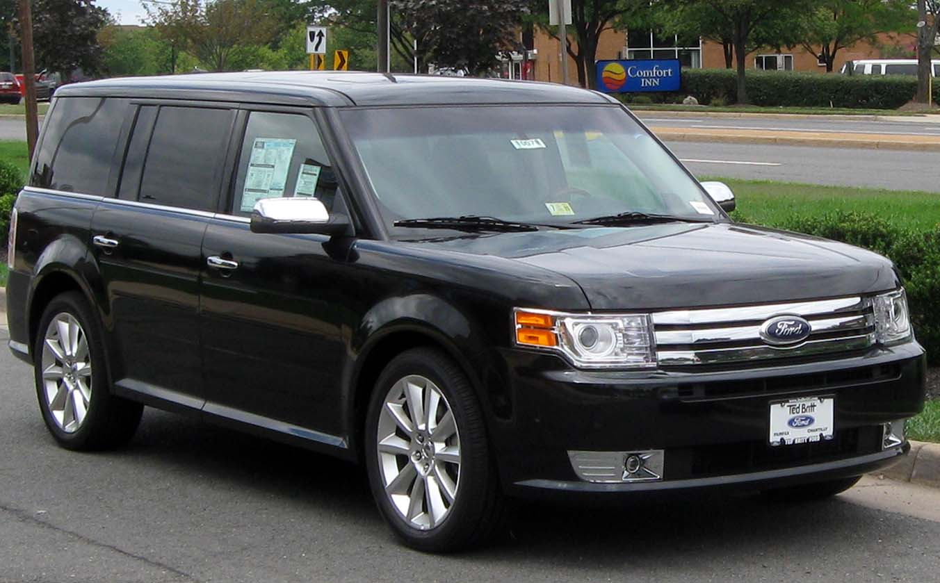 FORD FLEX LIMITED black