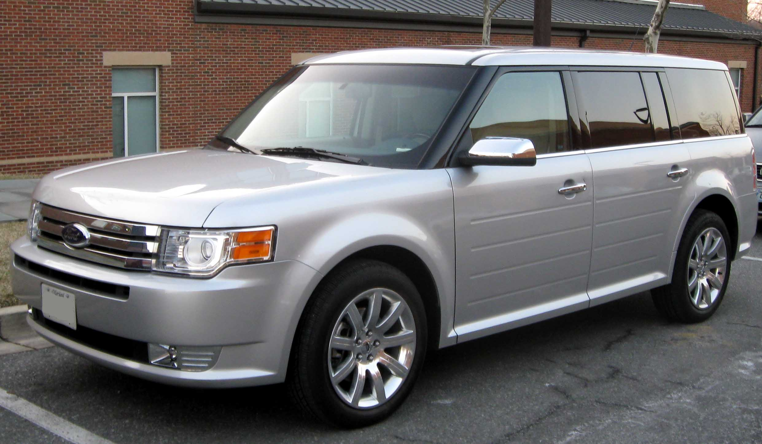 FORD FLEX LIMITED white