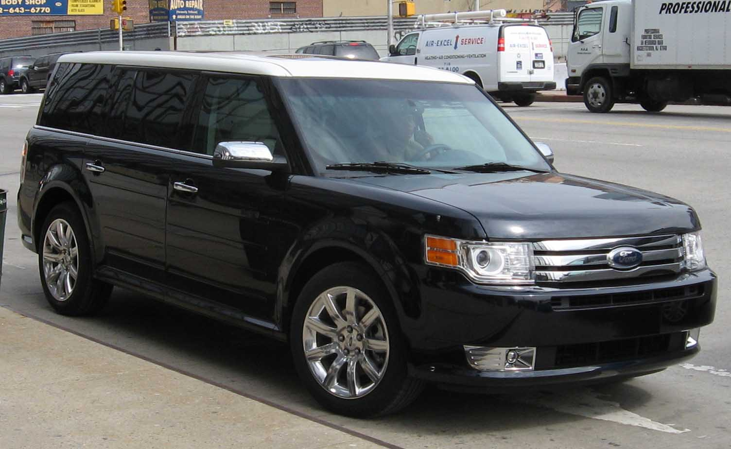 FORD FLEX blue