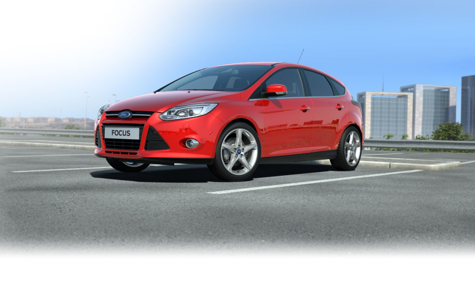 ford wallpaper (Ford Focus)