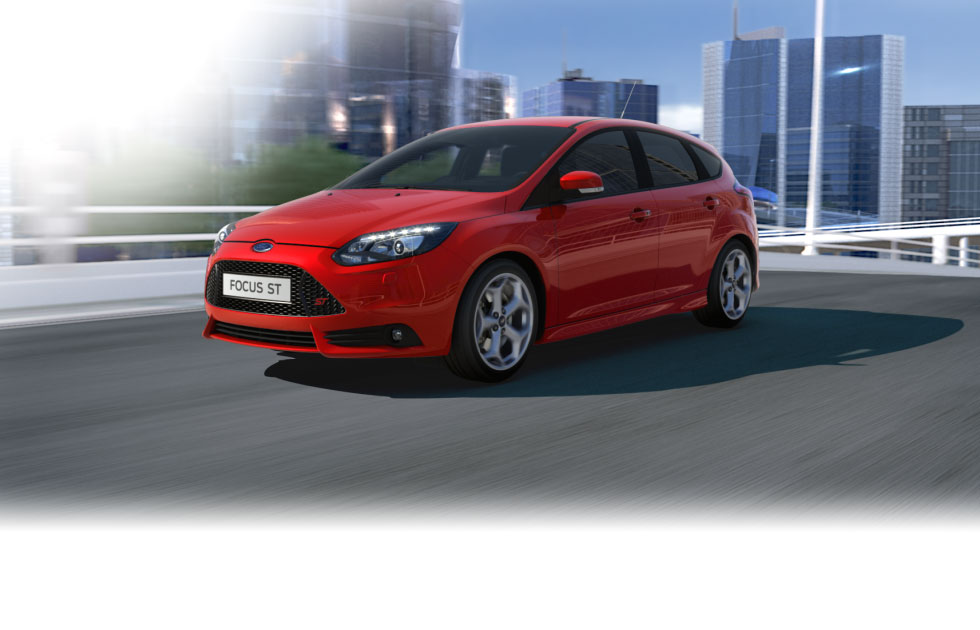 ford wallpaper (Ford FOCUS ST)