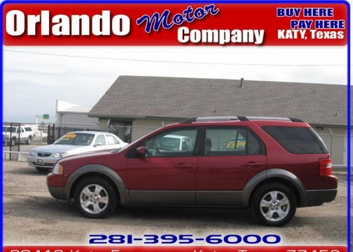 FORD FREESTYLE red