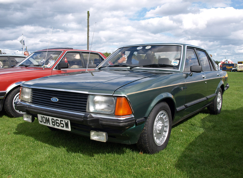 FORD GRANADA 2.8 brown