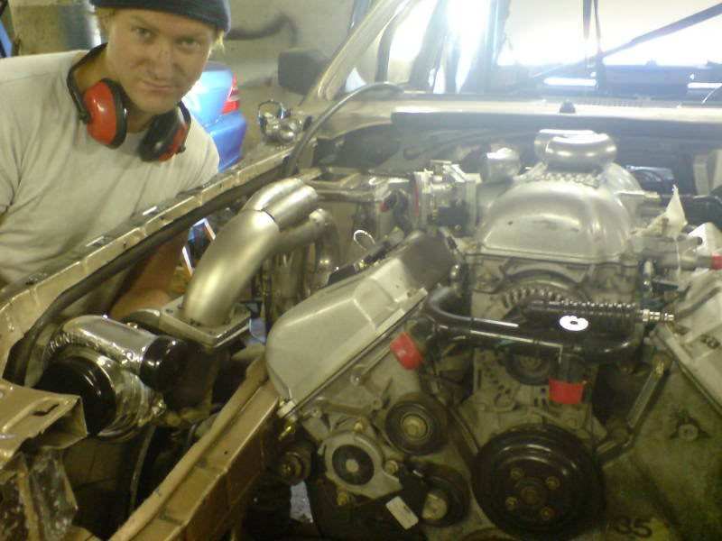 FORD GRANADA engine